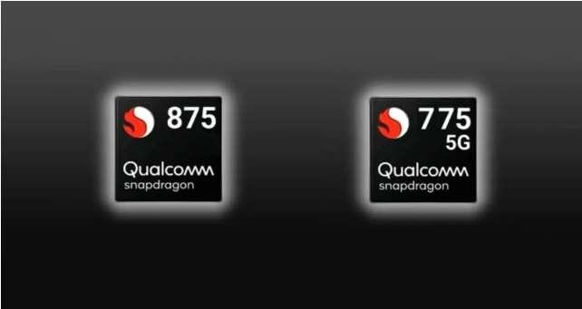 Snapdragon 875 and 775G