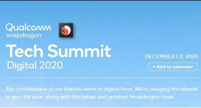 Snapdragon Tech Summit Digital 2020