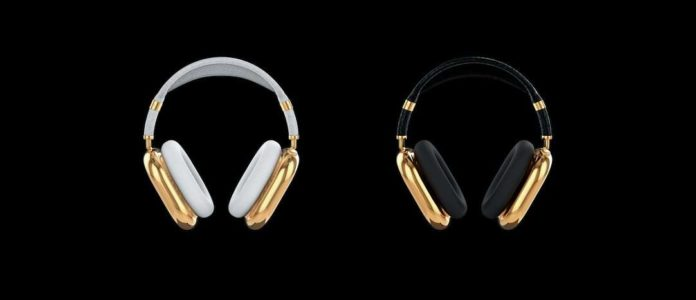 AirPods Max with Pure Gold