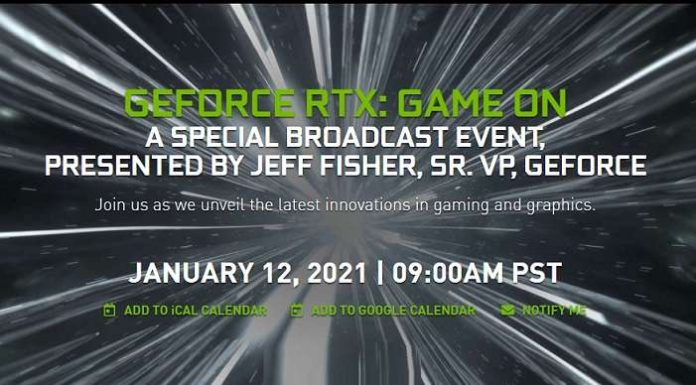 GEFORCE RTX GAME ON event
