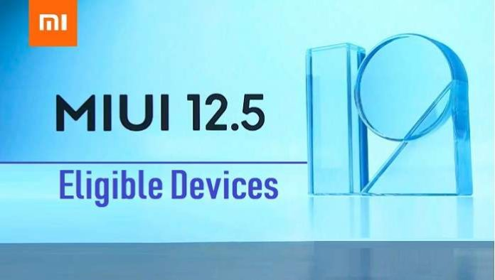MIUI 12.5 Supported Devices