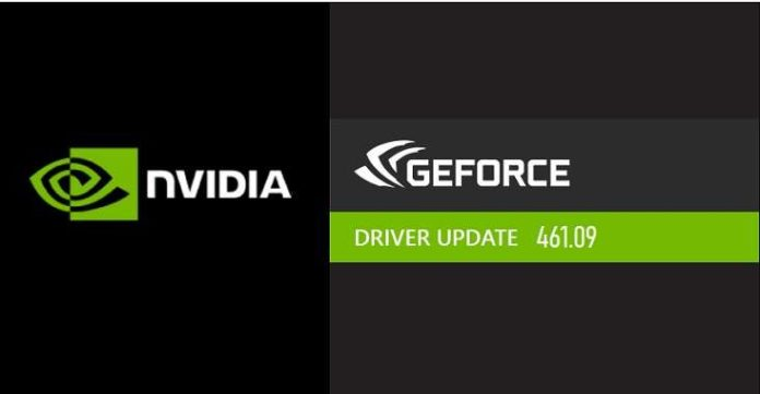 NVIDIA Releases GeForce Driver 461.09