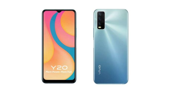 Vivo Y20G in Blue