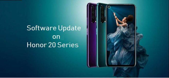 Magic UI 4.0 Update on Honor 20 Series