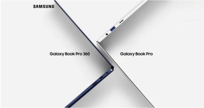 Samsung Galaxy Book Pro and Galaxy Book Pro 360