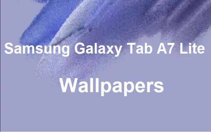 Samsung Galaxy Tab A7 Lite wallpapers