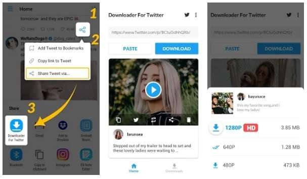 Download Twitter Videos - GIF