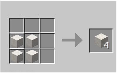 Make a Quartz Brick in Minecraft