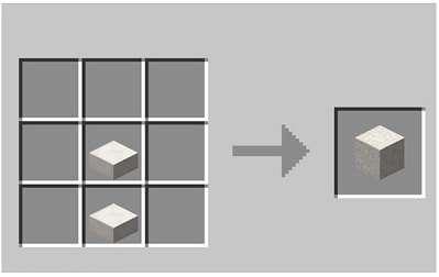 chiseled quartz block in Minecraft