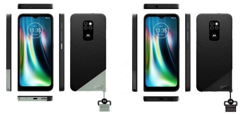 Motorola Defy 2021 in two colors