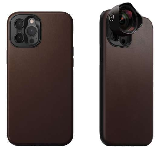 Nomad iPhone 12 Cases With Moment M-Series Lenses Support