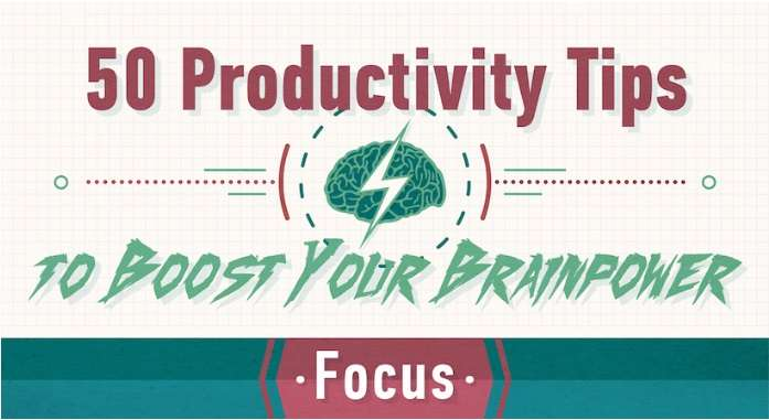 Productivity Tips to Boost Your Brainpower