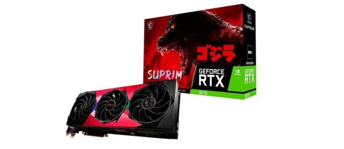 GeForce RTX 3070 SUPRIM SE GODZILLA