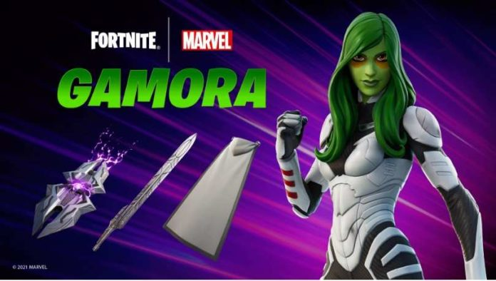 Gamora Character Skin