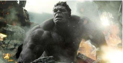 Hulk grey skin