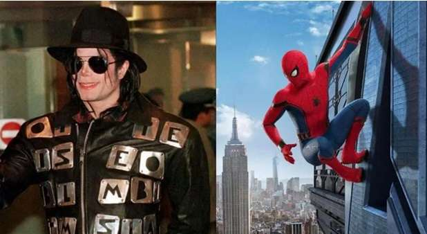 Michael Jackson aspired to be Spider-Man