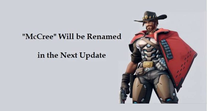 Overwatch Character McCree Will be Renamed