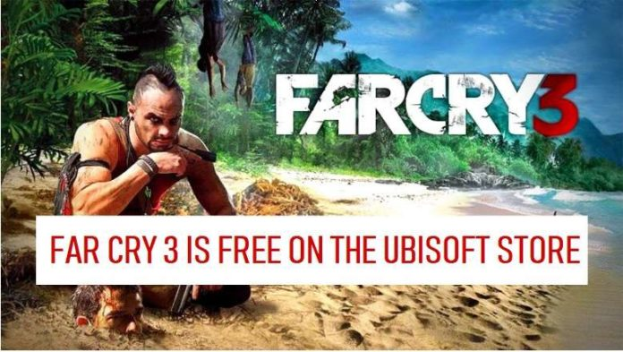 Far Cry 3 PC Version is Available For Free on the Ubisoft Store