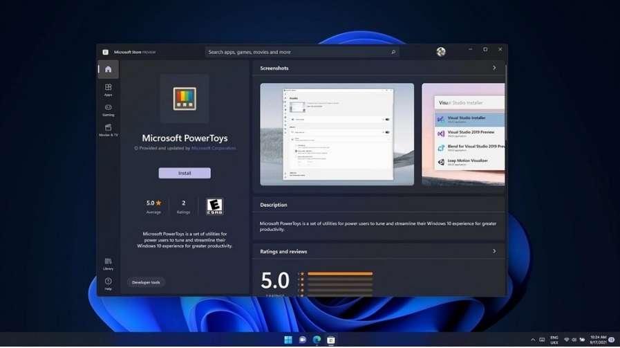 PowerToys in Windows 11