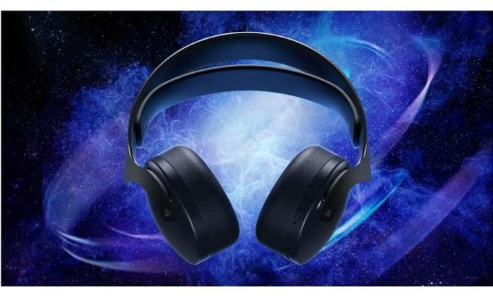 Pulse 3D Wireless Headset in Midnight Black