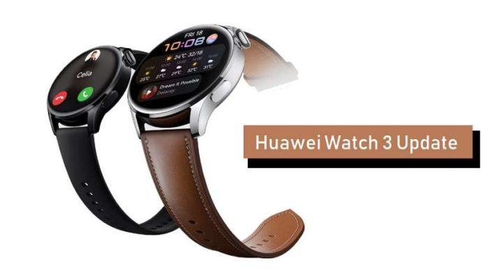 Huawei Watch 3 HarmonyOS 2 update